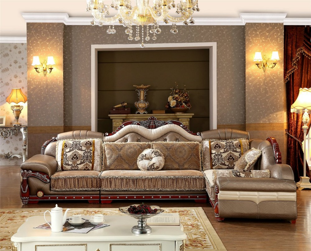 US $1150.0 |2019 No Chaise Living Room New Arriveliving Antique European  Style Set Fabric Hot Sale Low Price Factory Direct Sell Fabri-in Living  Room ...