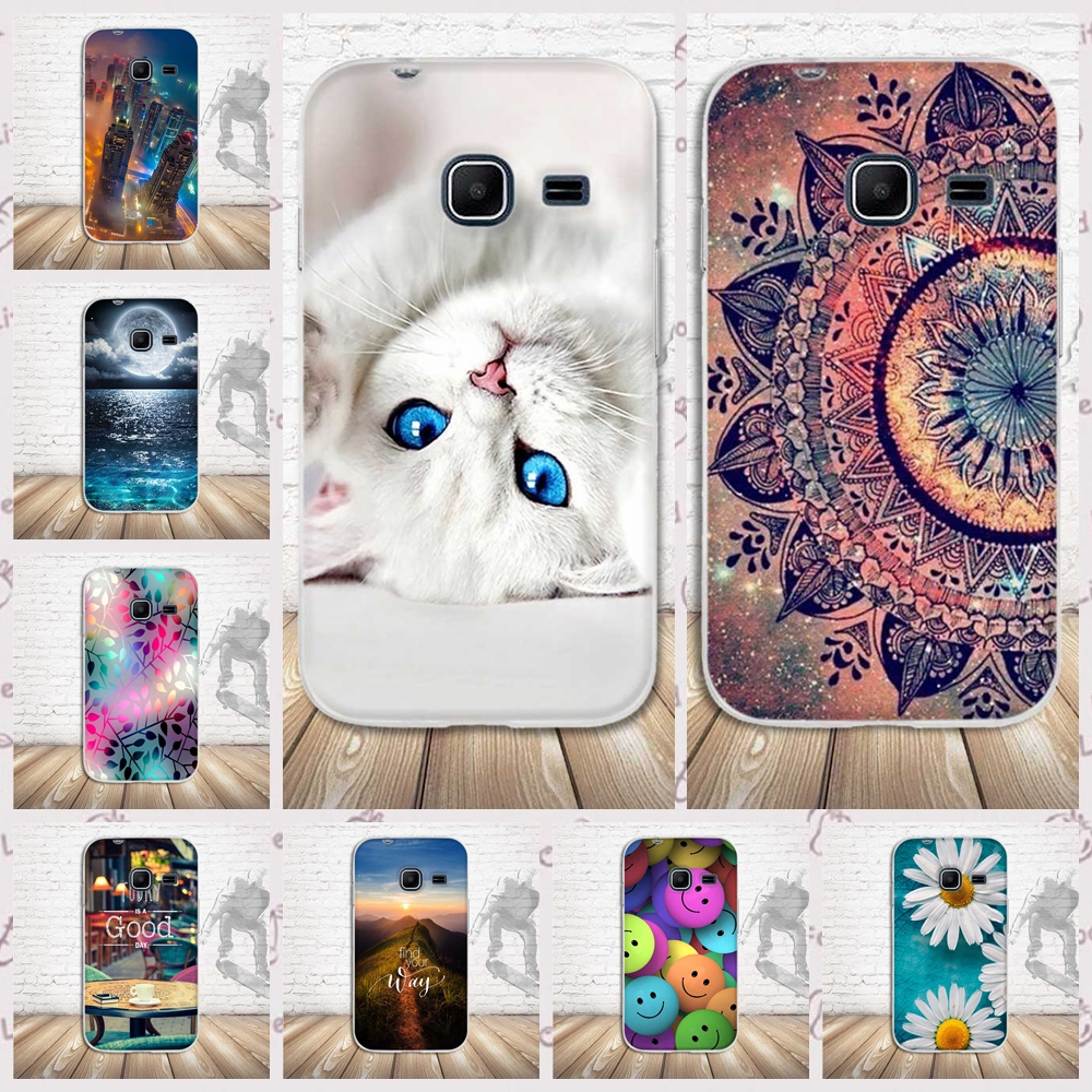 for Samsung Galaxy J1 Mini 2016 Phone Cases 4.0 Cover Cat Silicone Fundas Coque for Samsung Galaxy J1Mini J105F J105H Case Bags