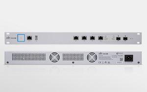 Image 3 - Ubiquiti UniFi Sicherheit Gateway USG PRO 4 1WAN 4LAN Mit Verwaltet Router Firewall 5x10/100/100 0Mbps