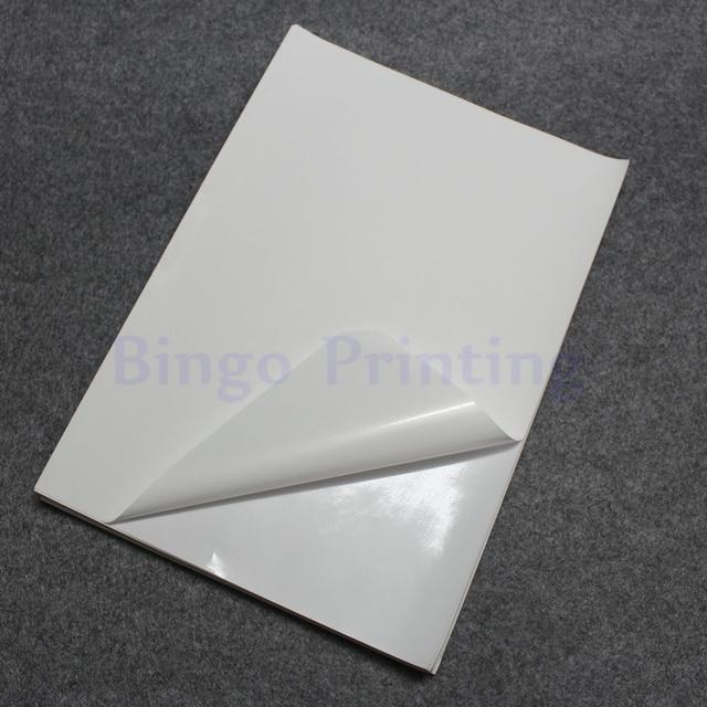 Aliexpress Com Buy 50 Sheets White A4 Waterproof Sticker