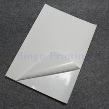 50 Sheets White A4 Waterproof Sticker Polymer Paper Synthetic Paper Blank Sticker Only For Laser Printer(China)
