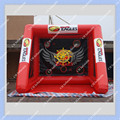 Hot red Inflatable Football Gate Inflatable Soccer Goal,4m by 4m large