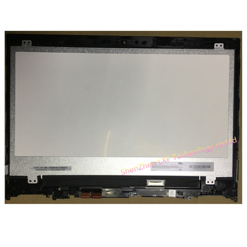 14 LCD Screen+Touch Digitizer Assembly with Frame For lenovo ideapad flex 5-1470 flex 5-14 lcd matrix screen yoga 520-14 image
