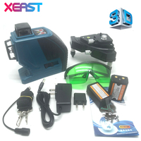 XEAST 12Lines 3D XE 90G Laser Level Self Leveling 360 Horizontal And Vertical Cross Super Powerful
