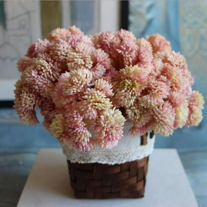 Artificial succulent plant rice shaped for Birthday Wedding Party home Decoration craft DIY gift box favor baby shower etc