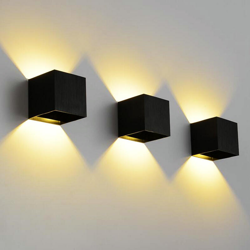 Lights & Lighting Up Down Led Wall Lamp To Rank First Among Similar Products Impartial 10pcs/lot 12w Dimmable Cob Ip65 Cube Adjustable Surface Mounted Outdoor Led Lightig,led Indoor Wall Light Led Indoor Wall Lamps