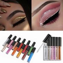 Long-lasting Diamond Glitter Liquid Eyeshadow Pencil Waterproof Women Shiny Shimmer Makeup