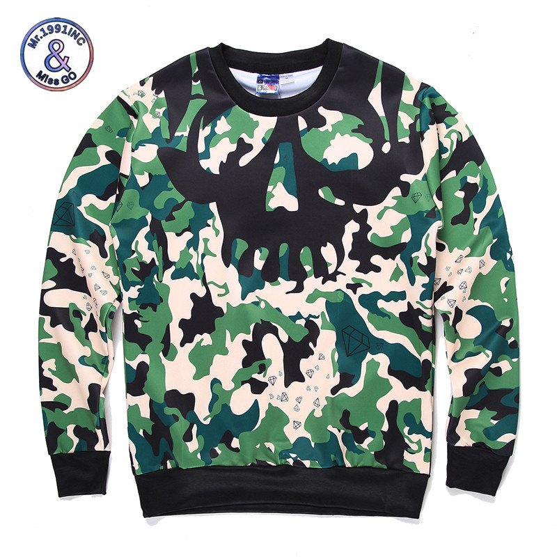 2017 Mr.1991INC&Miss.GO Up To Date Men/Women 3D Camouflage Landscape Panda Sunset Printing Sweatshirt Hip hop Hoodies Men Clothi