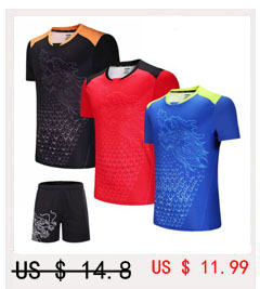 Crianças Feminino Masculino camisas De Tênis, Badminton