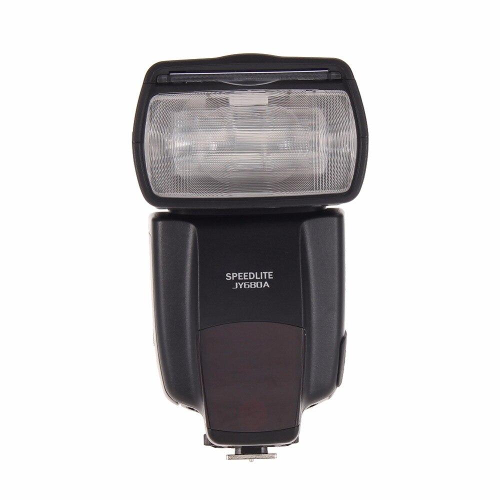 Galleria fotografica Jy-680a universel lcd flash flash pour <font><b>canon</b></font> nikon pentax olympus caméras avec la chaussure chaude standard montage
