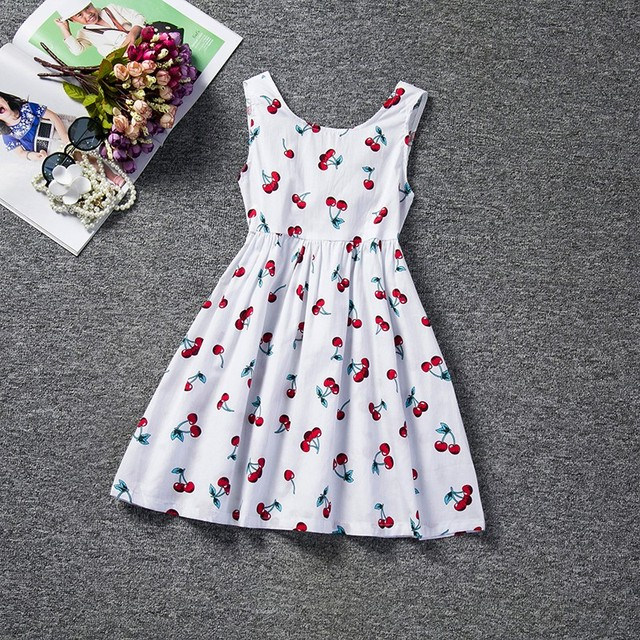 cb6a65709 Baby Kids Dresses for Girls Party Wear Summer Children Clothing Girl ...
