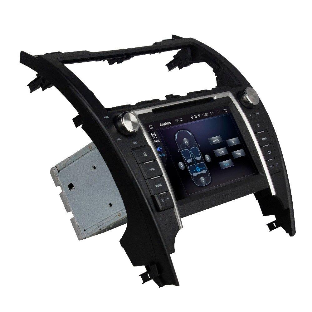 4 ГБ Оперативная память Octa core 8 Android 6.0 Аудиомагнитолы Автомобильные DVD плеер для Toyota Camry 2012-2014 с Радио GPS 4 г WI-FI Bluetooth USB DVR OBD