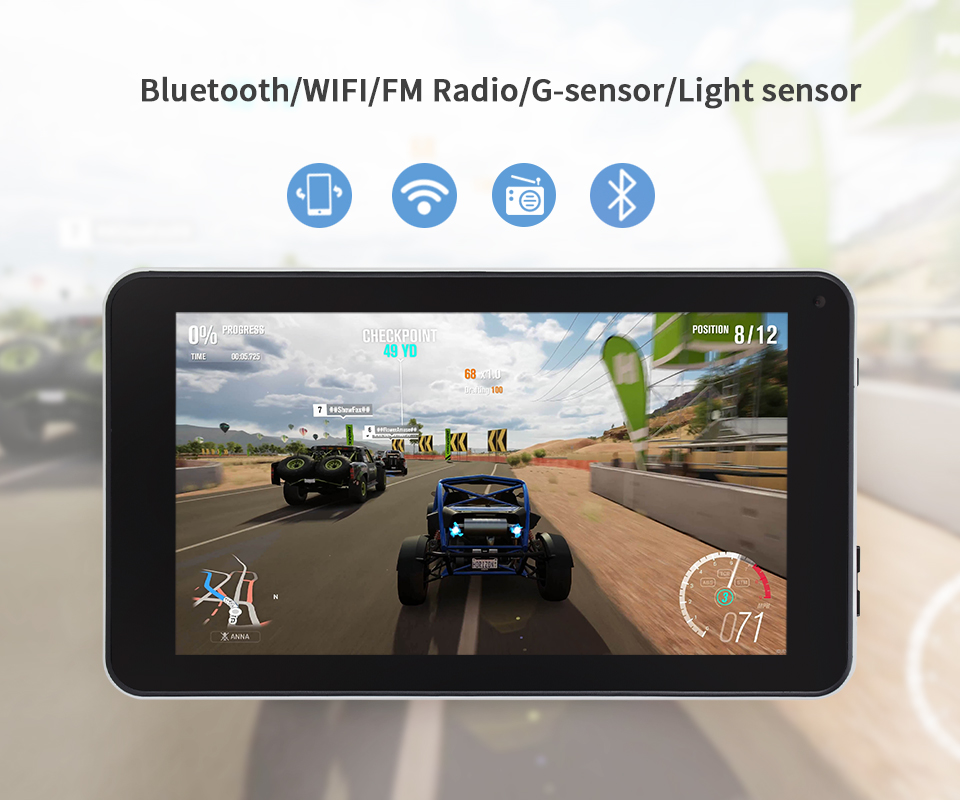 7 Inch Tablet Pc Aoson M753 Tablets 1gb+16gb Android 7.1 Quad Core Dual Cameras Bluetooth Wifi Multi Languages Tablets Promotion #5