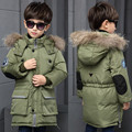 High quality!2016 Fashion Children'S Winter Slim Section Thick Down Jacket Boys Down Jacket  Duck Down Jacket Wear Coat