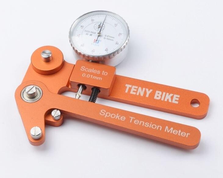 Spoke tension tester Digital Scale 0 01mm Bike Indicator Attrezi Meter Tensiometer Bicycle Spoke Tension Wheel