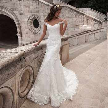 Mermaid Wedding Dresses Turkey 2019 Appliques Lace Custom Made Bridal Dress Wedding Gown vestidos de noiva Customized Plus size - DISCOUNT ITEM  47% OFF All Category