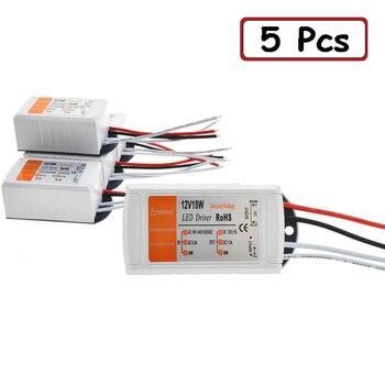 5 шт./лот DC 12 В 18 Вт источник питания светодиодный драйвер адаптер трансформатор переключатель для светодиодной ленты светодиодные фонари