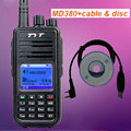 TYT Tytera MD-380 DMR Digital de Dos vías de radio UHF 400-480 MHz de Radio 1000 Canales de Walkie Talkie HYT + Programación USB Cable & CD md380