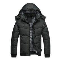 Winter Jacket Men Fashion Design Brand Parka Men Clothing Zipper Coat Male With Pockets