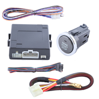 Good Quality Push Button Start Kit Support Car Alarm System Remote Engine Start Stop Function And