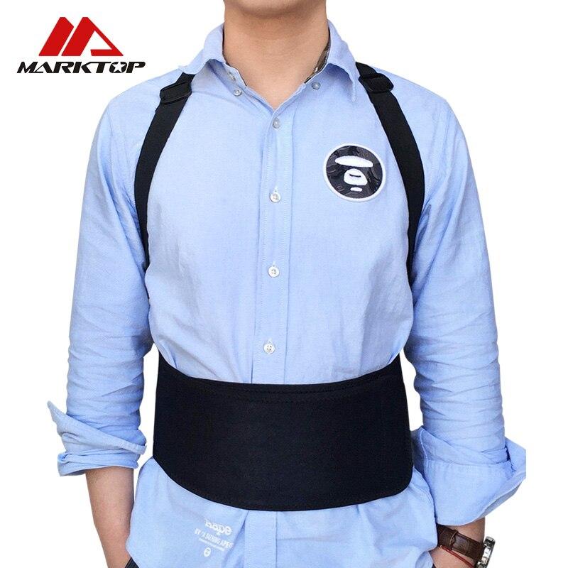 Male Female Adjustable Magnetic Posture Corrector Corset Back Brace Back Belt Lumbar Support Straight Corrector de espalda
