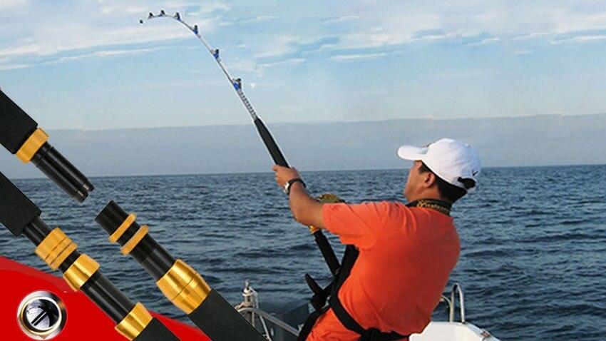 1.98m heavy duty boat fishing rod raft jigging trolling rod, Fishing Rod