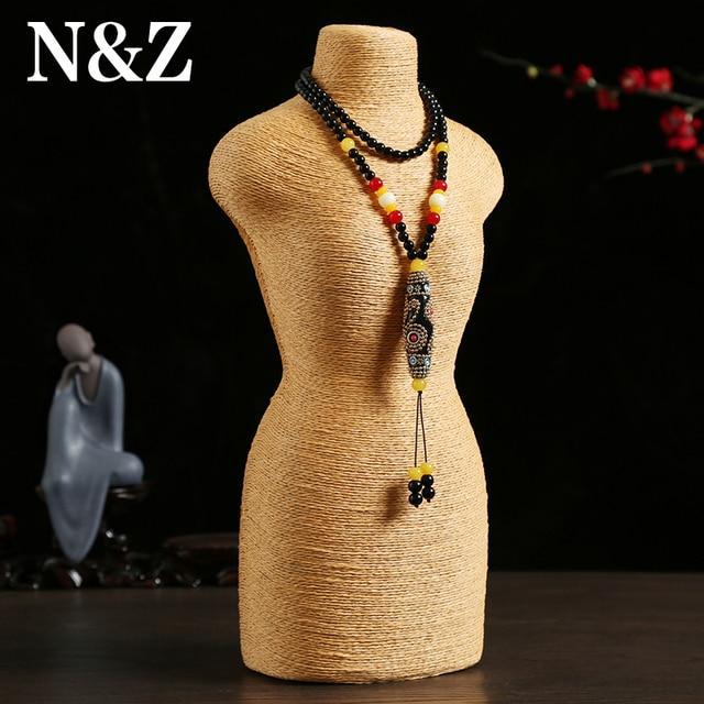 H40 L20cm Hot Selling T14 Mannequin Necklace Decorate Pendant