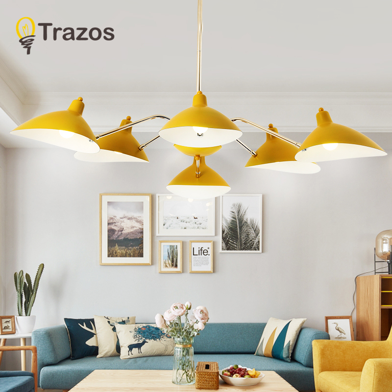 TRAZOS New modern light Colour Adjustable chandelier hardware lamp home dining room lamp gold decorative lightTRAZOS New modern light Colour Adjustable chandelier hardware lamp home dining room lamp gold decorative light