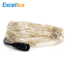 Led-String-Light Connector Festival-Lamp Decoration Copper-Wire Party Waterproof 10M
