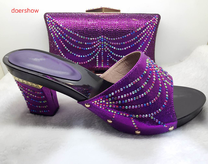 doershow doershow High Class African Party Shoes And Bag Set Fancy Formal Wedding Italian Matching Shoe And Bag Set !HJJ1-39 doershow italian design matching shoe and bag set african party shoe and bag set for wedding shoes ladies shoes and bag ym1 12