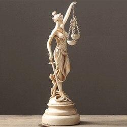 Arenito grécia estátua themis casa acessórios de decoração arenito deusa grega da justiça estátua escultura