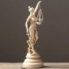 Sandstone Greece Statue Themis Home Decoration Accessories Greek Goddess Of Justice Sculpture