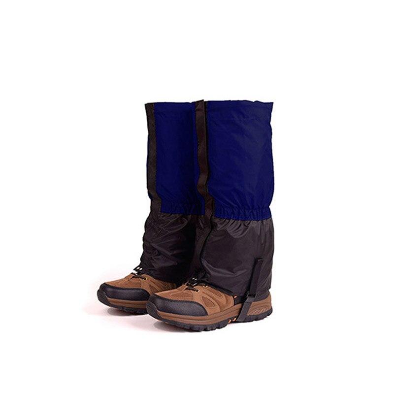 Outdoor Waterproof Skiing Boots Gaiters Men Women Kids Cycling Shoe Cover Hiking Trekking Climbing Snow Leg Warmer Gaiters