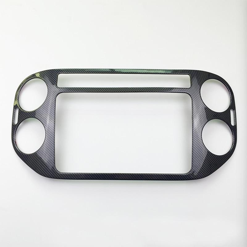 Centrale Dashboard Panel + Rear Air Voorwaardelijke Vent ABS Matte Binnen Auto accessoires Voor Tiguan 2012 2015