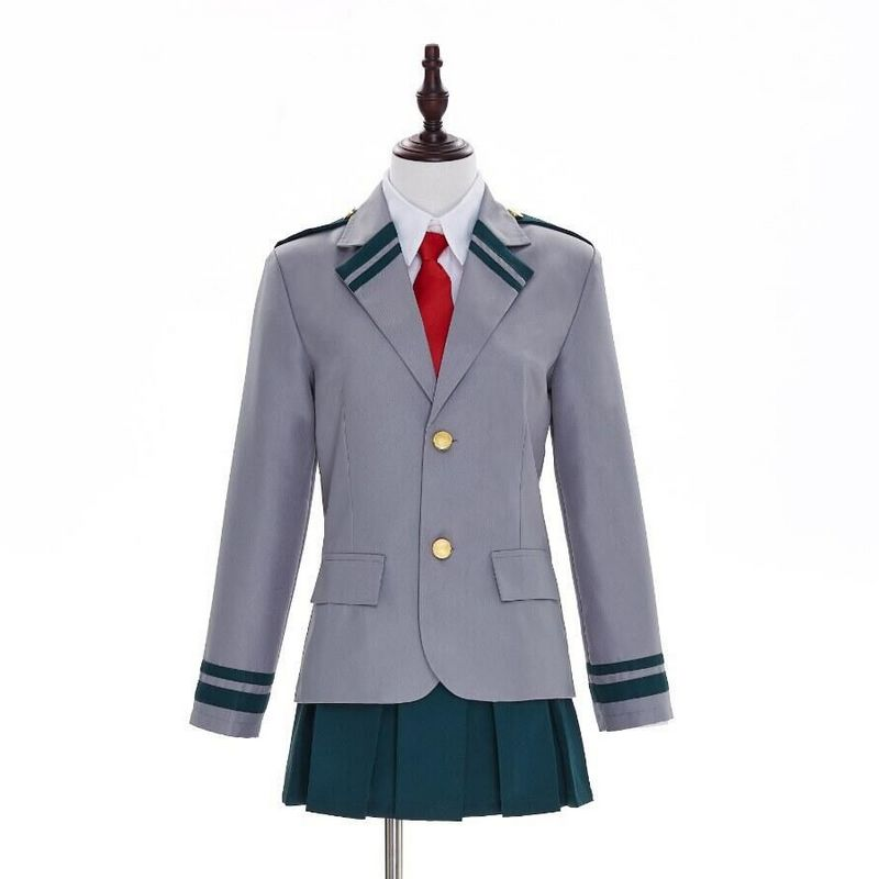 Anime My Hero Academia cosplay cartoon Halloween Unisex cosplay Uniforms costumes Japanese OCHACO URARAKA Free shipping