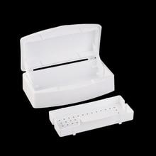 New Nail Sterilizer Tray Disinfection Pedicure Manicure Box Nails Art Boxes Sterilizing Salon Tools 88 HJL2017