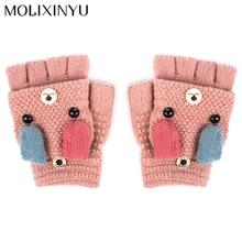 MOLIXINYU/Детские перчатки; детские варежки; Детские аксессуары; перчатки для малышей; утепленные Лоскутные теплые зимние перчатки для малышей