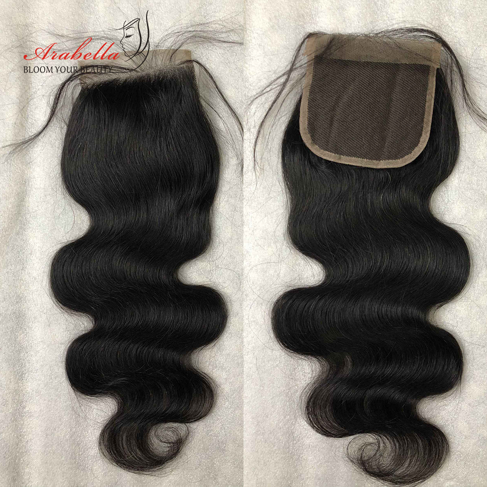 Body Wave Closure  Lace Closure With Baby Hair 4x4 Lace Closure  Arabella Transparent Lace Closure 5