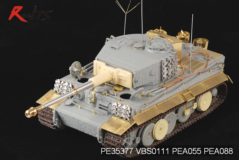 RealTS Voyager PE35377 1/35 WWII German Tiger I MID Production (For DRAGON 6660)