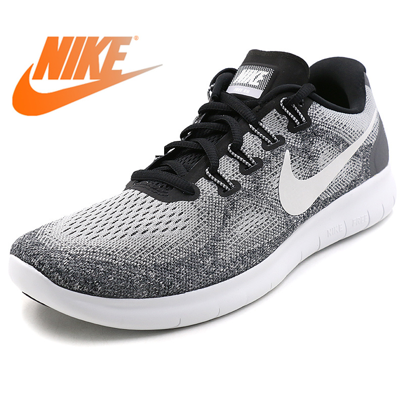 6bdb4369830f Original Official NIKE FREE RN Men s Running Shoes Sneakers Tennis Shoes  Sport Shoes Breathable Cozy Athletic