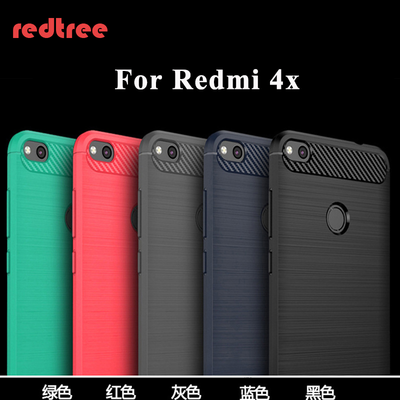 Xiaomi Redmi 4x case cover Redmi 4x back case TPU coque phone fundas redtree original Redmi4x pro prime cover capas 5.0 inch