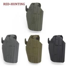Novo sistema de cinto bolsa pistola glock caça tático caso para g19/23/38 hk vp9/usp compacto