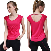 Quick Dry Breathable Sleeveless Fitness T-Shirts Yoga Shirt Women Gym Vest Workout Tops Sports T-Shirt Female Sportswear Clothes