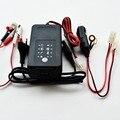 12 V carregador de bateria de carro com desulfating, 3 tipos de conectores de saída jacaré clips, ternimal e cigarro bateria mais leve