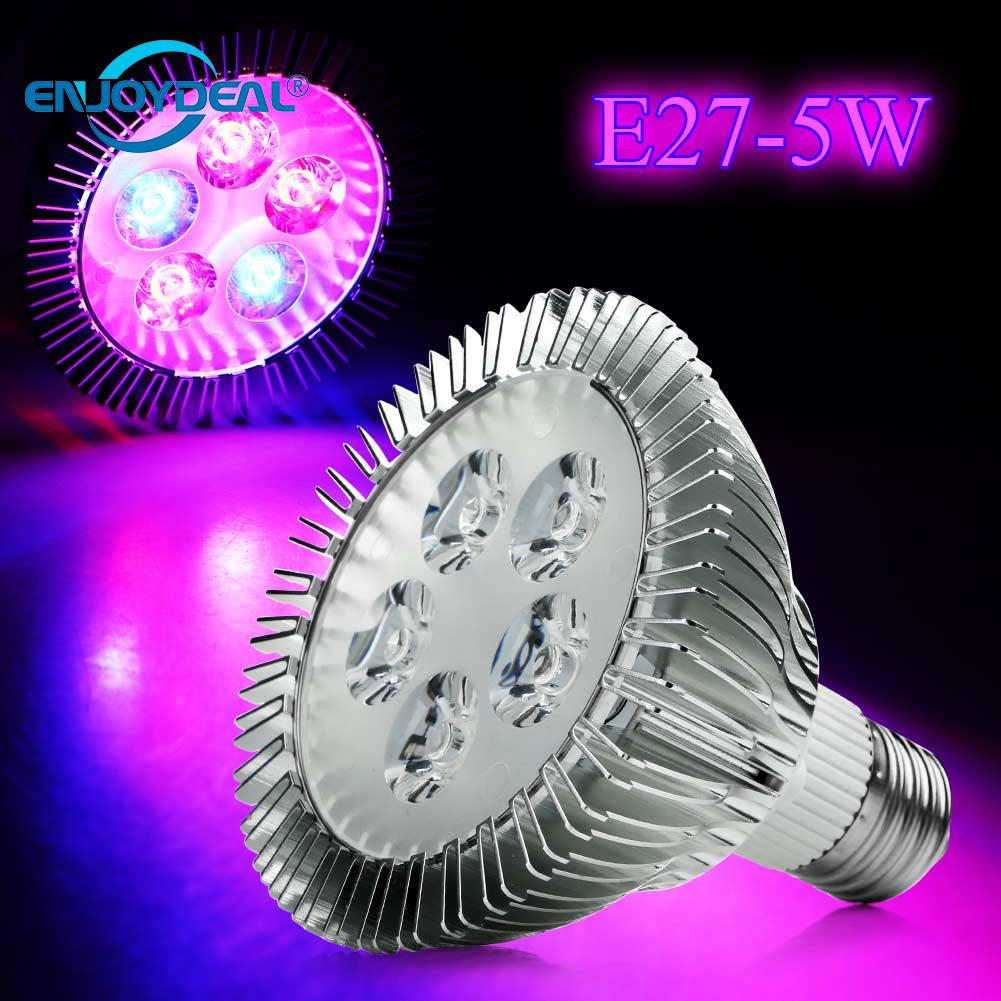 <font><b>PAR30</b></font> <font><b>E27</b></font> 5W Red+Blue LED Plant Grown Light Lamp Flower Hydroponic Bulb image