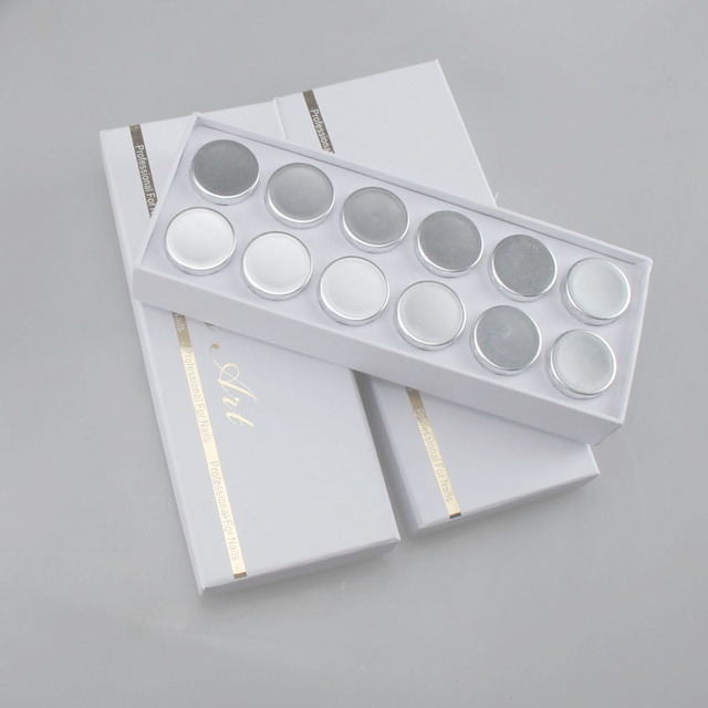 12 Colors/Set mirror powder nails Chrome Mirror Powder Mirror Effect Powder Gel Nail Polish