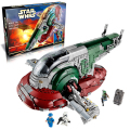 Lepin 05037 Slave I building bricks blocks Toys for children boys Game Plane Weapon Compatible with Decool Bela 75060