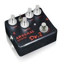 Dr J Arsenal Distortion Electric Guitar Effect Pedal Overdrive Hand Made Broad Tone Adjustments True Bypass
