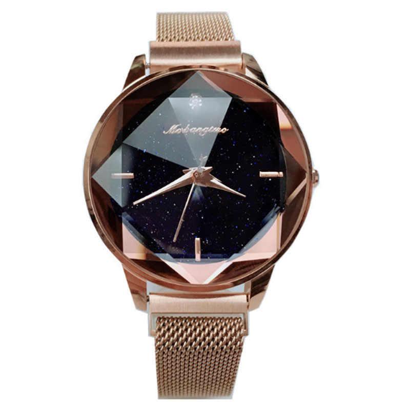 High-grade Luxury Women Watch LadyMagnetic Starry Sky Clock Fashion Diamond Female Quartz watch relogio feminino zegarek damski