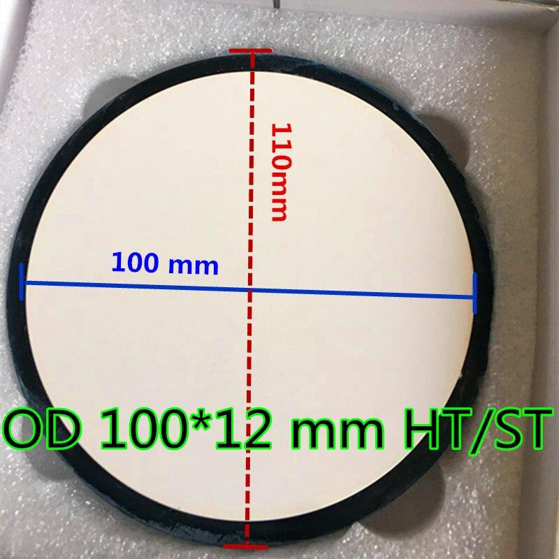 10 pièces OD100 * 12mm matériau de laboratoire dentaire zircone blocs en céramique pour CAD CAM fraisage système Upcera haute Super translucide